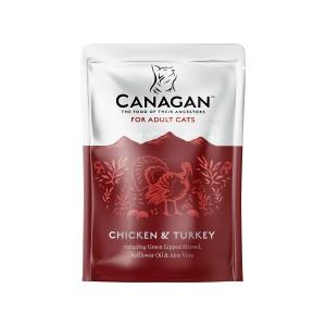 Canagan Adult, Pui si Curcan, 85 g