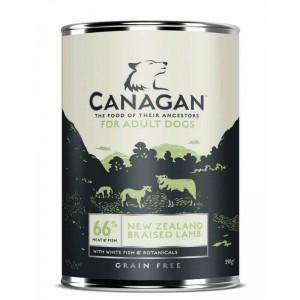 Canagan Dog Grain Free Miel si Peste Alb, 395 g