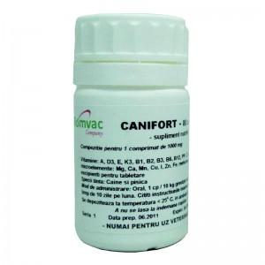Supliment nutritiv CANIFORT 80 CP