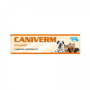Caniverm pasta orala, seringa, 4 ml