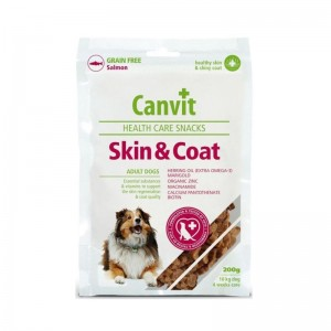 Canvit Health Care Skin and Coat Snack, 200 g