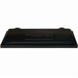 Capac acvariu, Diversa, negru, 80 cm