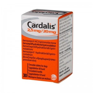 CARDALIS 2,5 MG / 20 MG - 30 TABLETE