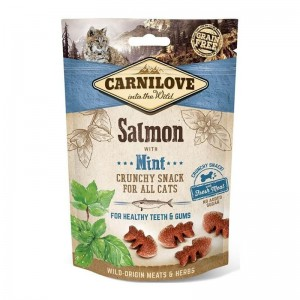 Carnilove Cat Crunchy Snack Salmon with Mint, 50 g