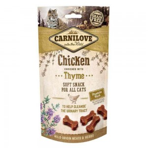 Carnilove Cat Semi Moist Snack Chicken with Thyme, 50 g
