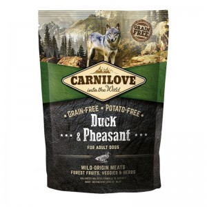 Carnilove Duck and Pheasant for Adult, 1.5 kg
