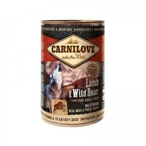 Carnilove Wild Meat Lamb and Wild Boar, 400 g