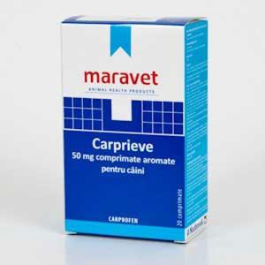 Carprieve Flavoured 50 mg 20 tab