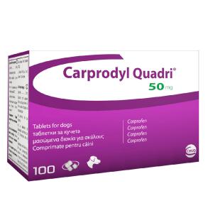 Carprodyl Quadri, 50 mg, 100 tablete
