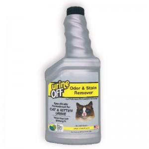 Urine Off Veterinary Odor & Stain Remover Cat & Kitten, 500 ml