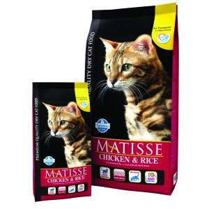 Matisse Original Cat Adult Pui si Orez 10 Kg