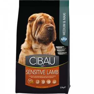 Cibau Dog Sensitive Lamb Medium-Maxi 2.5 Kg