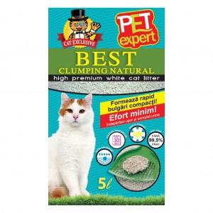 NISIP PET EXPERT CLUMPING NATURAL 5 L