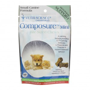 Composure Small Dog&Cat Bite-sized Chews 30 tablete