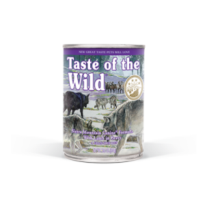 Conserva Taste of the Wild - Sierra Mountain, 390 g