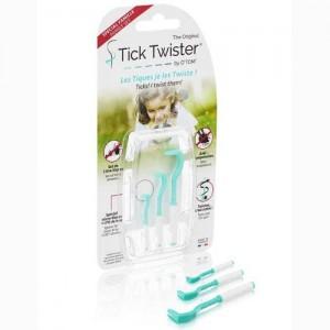 Croseta extras capuse, O'Tom Tick Twister, set 3 buc