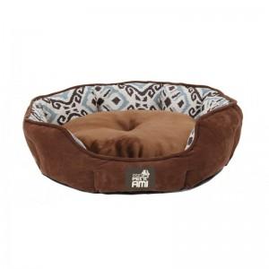 Culcus pentru caini si pisici, Mon Petit Ami Kim, M (57x52xH18 cm), Maro