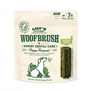 Gustari dentare caini, Lily's Kitchen, Woofbrush S Natural Dental Dog Chew, 154 g