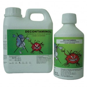 DECONTAMINOL Solutie concentrata 500 ml