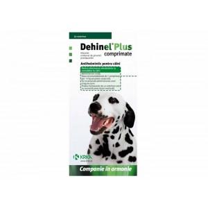 Dehinel Plus 100 cpr antiparazitar intern pentru caini