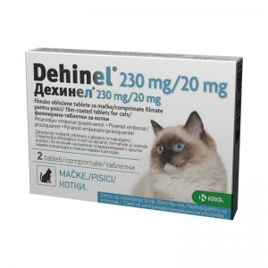 Dehinel Cat 230 mg / 20mg, 2 comprimate