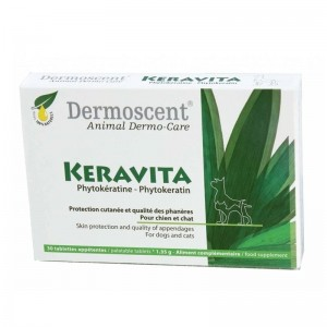 Dermoscent Keravita, 30 tablete