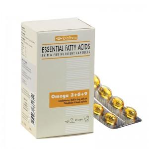 Diafarm Omega 3 + 6 + 9, 40 comprimate