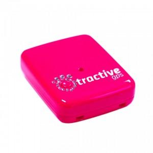 Dispozitiv localizare GPS cu cristale Swarovski, Tractive TRAPI1