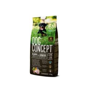 DOG CONCEPT PUPPY&JUNIOR 15 KG