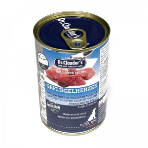 Dr. Clauder's Selected Meat Inimi de Pui, 400 g