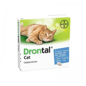 Drontal Cat 2 tablete  cutie