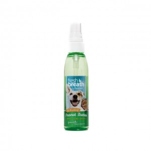 Tropiclean Fresh Breath Peanut Butter Oral Care Spray, 118 ml