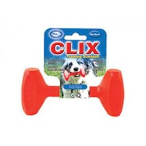 Kong Jucărie caine plastic Dumbbell Medium