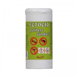 Ectocid pulbere gandaci, 50 g
