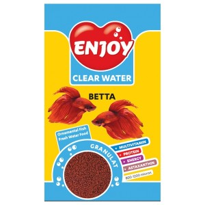 Hrana granule pesti, Enjoy Betta, 250 ml