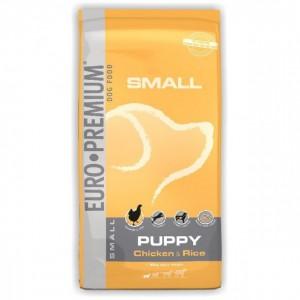 EURO-PREMIUM SMALL PUPPY, Chicken & Rice, 3 kg