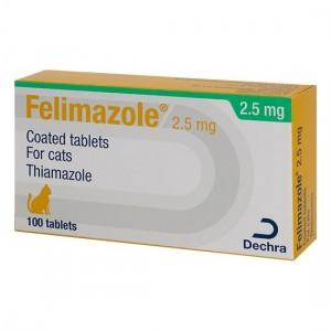 Felimazole, 2.5 mg/ 100 comprimate