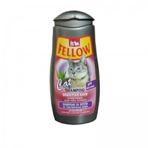 Sampon pentru pisici, Fellow Sensitive Skin, 250 ml