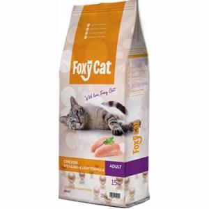 Hrana uscata pisici, Foxy Cat Sterilised, Pui, 15 kg