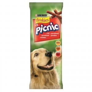 Recompensa pentru caini, Friskies Dog Picnic, Vita, 42 g
