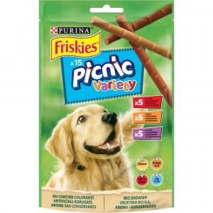 Recompensa pentru caini, Friskies Dog Picnic, Variety, 126 g