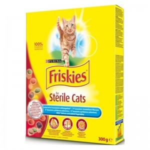 Friskies Pisica Sterilized 300 g