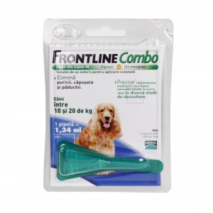Frontline Combo M (10-20 kg) - 1 Pipeta Antiparazitara