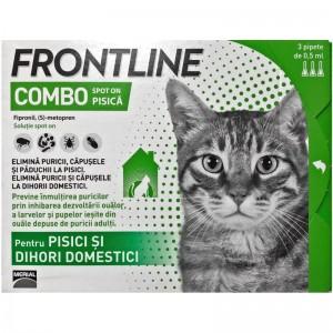 Frontline Combo Pisica, 1 pipeta