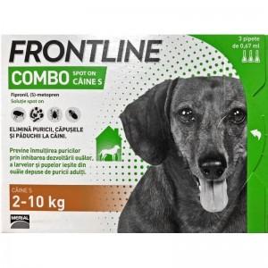 Frontline Combo S (2 -10 kg) - 1 Pipeta Antiparazitara