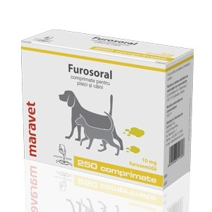 Furosoral 10 mg 20 tablete