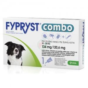 Fypryst Combo Dog M 134 mg x 3 pip