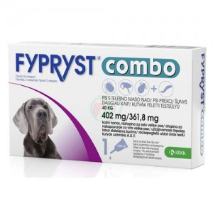 Fypryst Combo Dog XL 402 mg x 3 pip