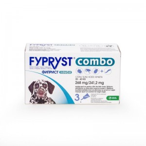 Fypryst Combo Dog L 268 mg (20 - 40 kg), 3 pipete