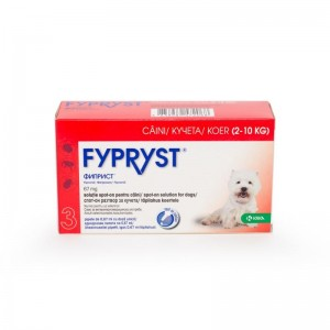Fypryst Dog S 67mg (2 - 10 kg), 3 pipete